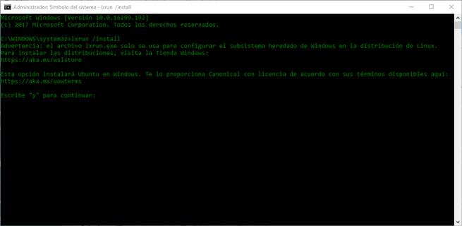 Instalar WSL Windows 10