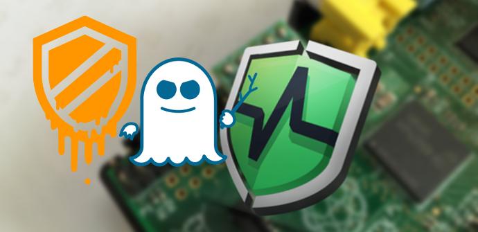 Raspberry Pi Protección Meltdown Spectre