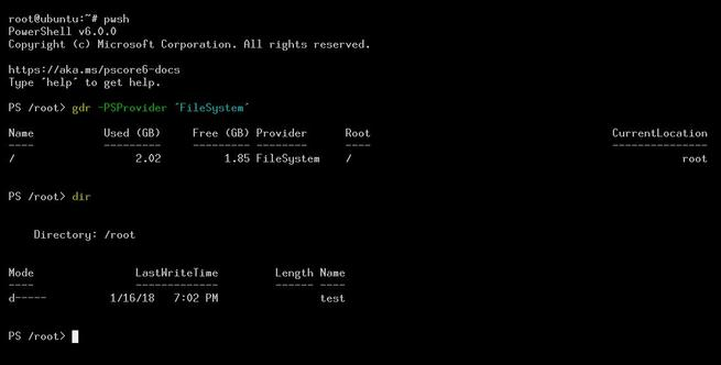 Ubuntu PowerShell