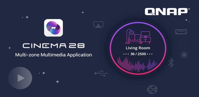 Cinema28, la nueva aplicación de QNAP