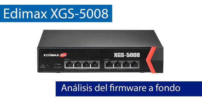Ver noticia 'Análisis del firmware del switch Edimax XGS-5008 con puertos 10Gigabit'