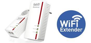 Cómo configurar el PLC AVM FRITZ!Powerline 1260E en modo repetidor Wi-Fi universal