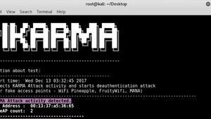 PiKarma, un script de Python para ayudar a identificar redes WiFi maliciosas