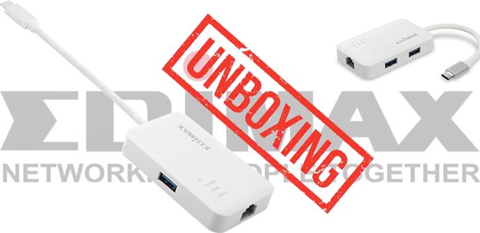 Edimax EU-4308 unboxing de este adaptador USB