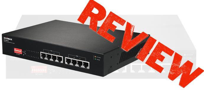 Edimax GS-1008P análisis de la segunda versión de este switch
