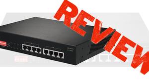 Edimax GS-1008P: Análisis de la segunda versión de este switch con 8 puertos Gigabit PoE, VLANs y QoS