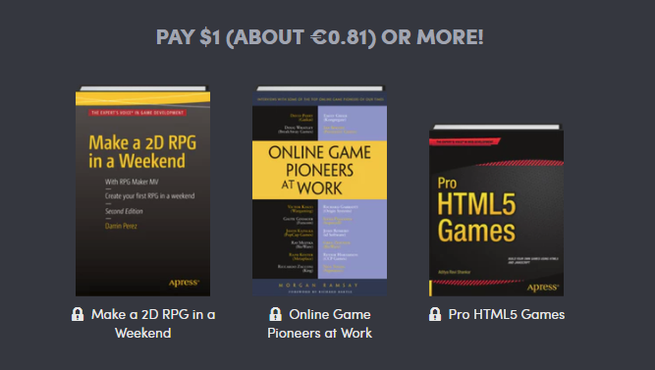 Humble Book Bundle Code your Own Games - Pack 1