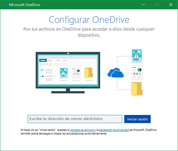 OneDrive - Añadir nueva cuenta