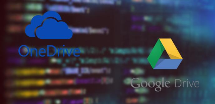 Seguridad Google Drive OneDrive
