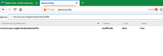 Solucion error Sincronizar marcadores Firefox