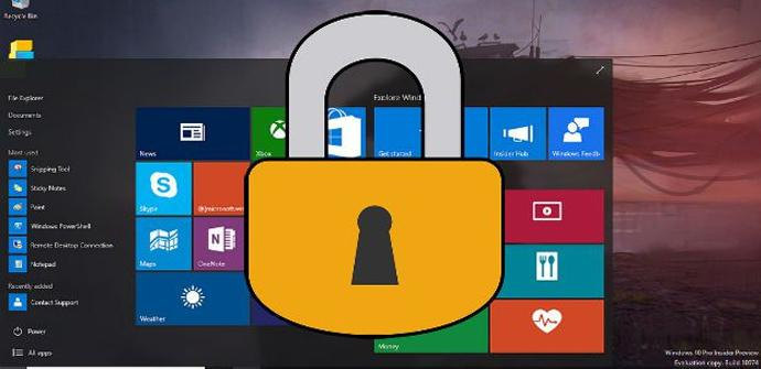 Carpeta anti ransomware de Windows 10