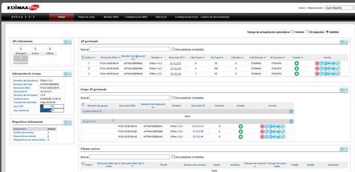 Ver noticia 'Análisis del firmware NMS (avanzado) del sistema Wi-Fi Edimax Office 1-2-3 en vídeo'