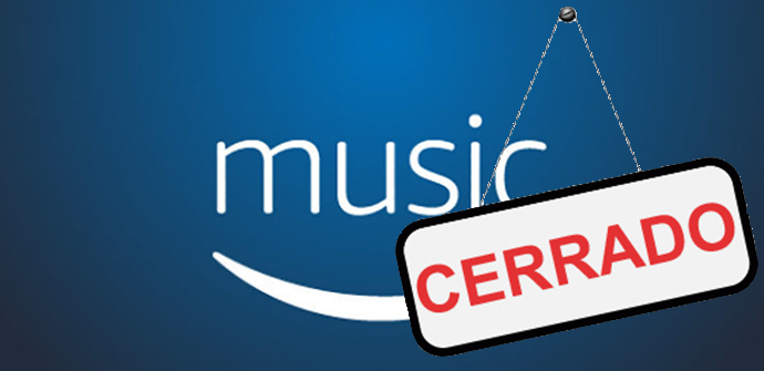Amazon Music Storage cierra y borra archivos de los usuarios