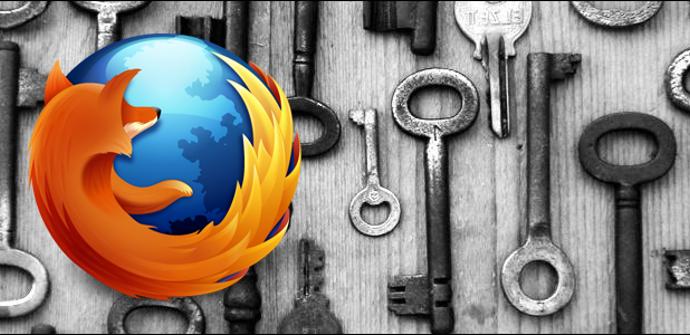Contraseñas Firefox