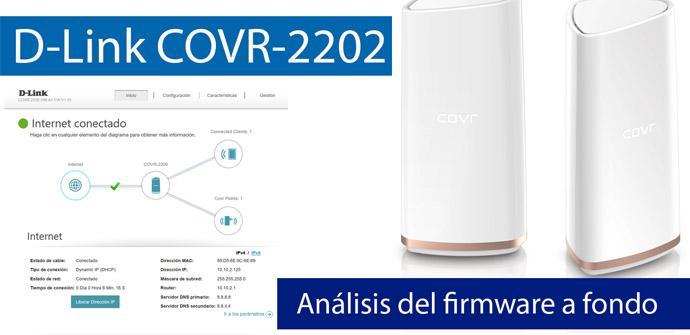 Ver noticia 'Conoce el firmware del sistema Wi-Fi Mesh D-Link COVR-2202 en nuestro vídeo'