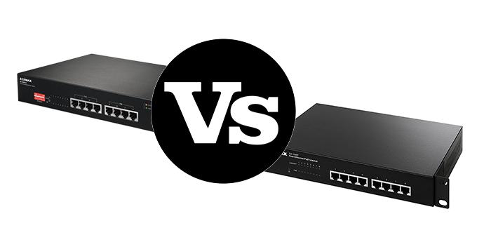 Edimax GS-1008P v2 comparativa