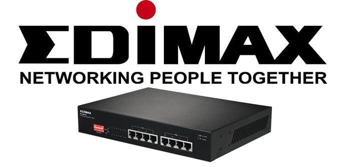 Edimax GS-1008P v2 VLANs, QoS y PoE+ gestión