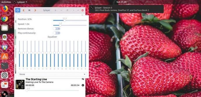 LPlayer reprocutor minimalista de audio para Linux