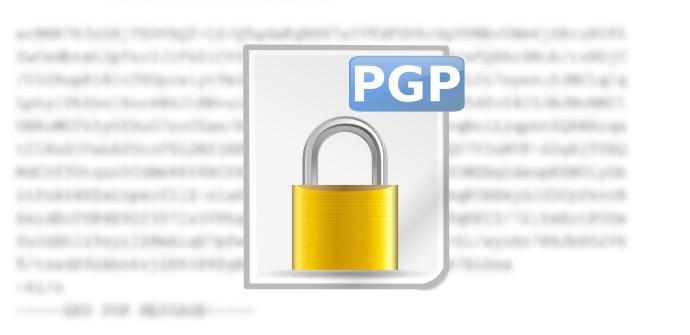 Mensaje Cifrado PGP