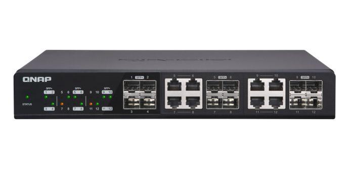 Ver noticia 'QNAP se mete en el switching con su primer switch 10Gigabit, el QNAP QSW-1208-8C'