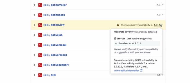 Vulnerabilidades GitHub