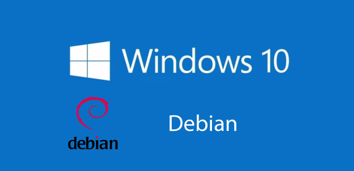 Windows 10 Debian