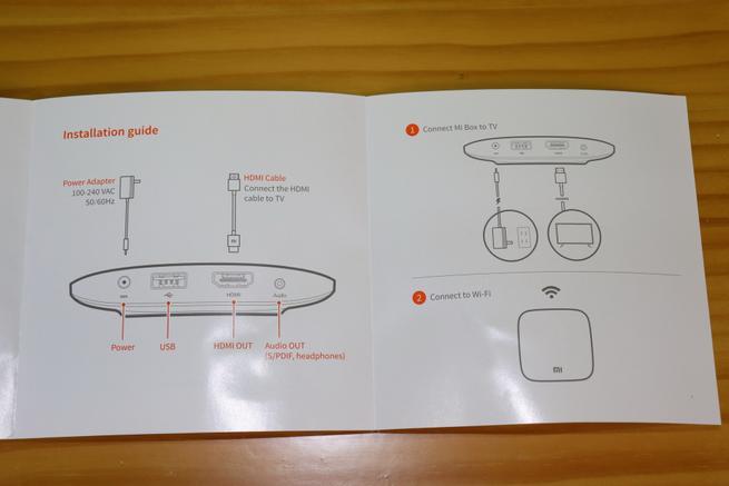 Guía de instalación rápida del reproductor Xiaomi Mi TV Box 4K
