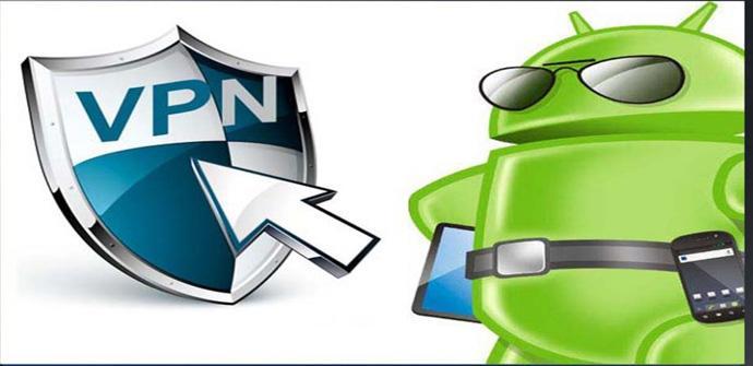 Selección de aplicaciones VPN para Android