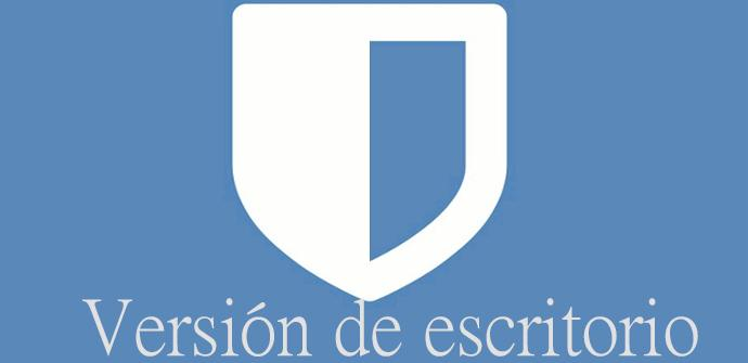 Bitwarden disponible en versión de escritorio