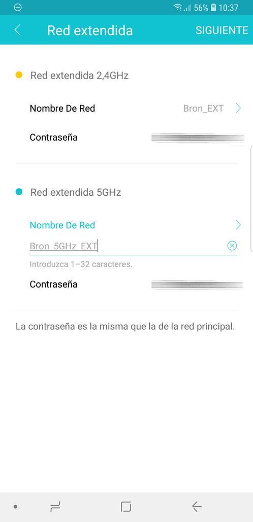 TP-Link RE450: Aplicación gestión Tether para Android