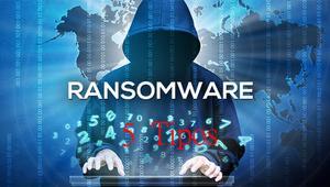 5 tipos de ransomware que tienes que conocer y cómo protegerte de ellos