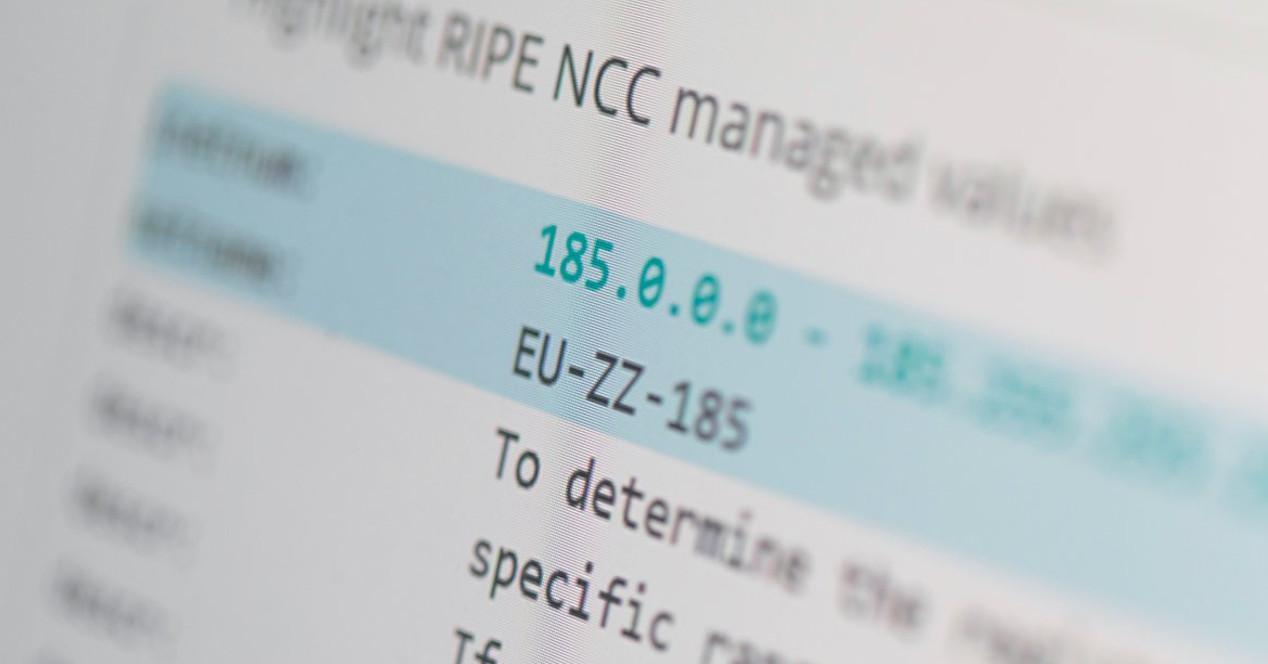 Bloque IPv4