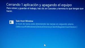 Acelera el apagado de Windows 10 desactivando el aviso de cerrando aplicaciones