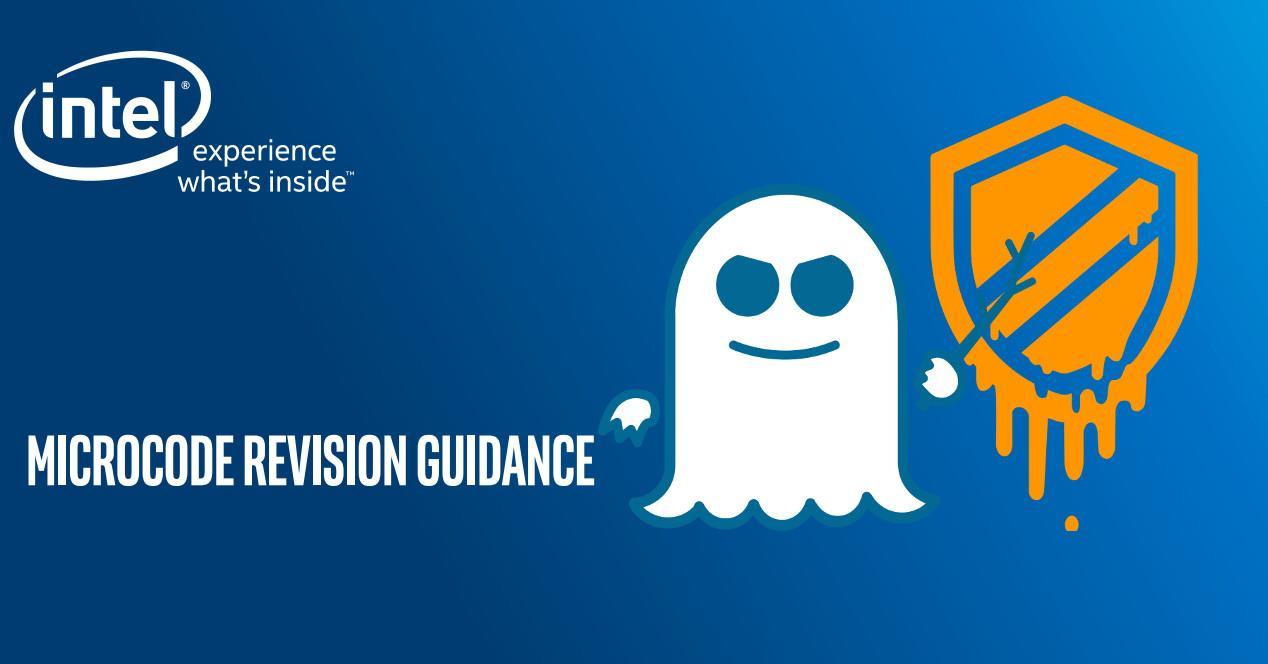 Intel Actualización Microcódigo Meltdown Spectre