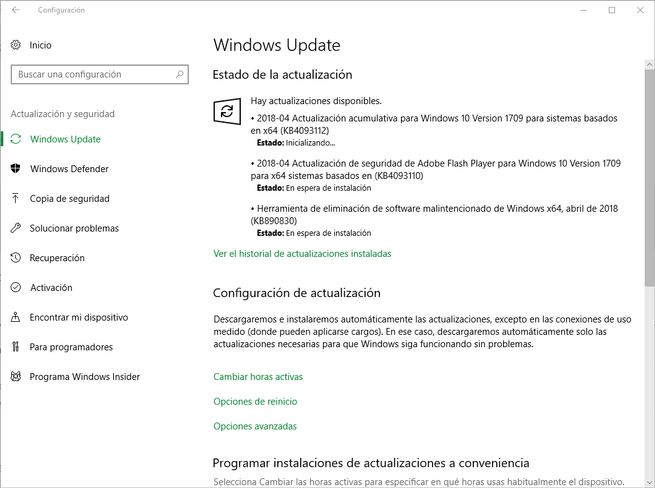 Parches seguridad Microsoft Windows 10 abril 2018