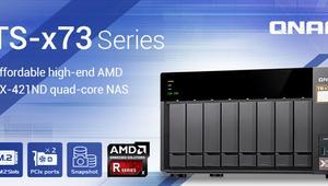QNAP lanza los nuevos TS-x73, unos servidores NAS de altas prestaciones