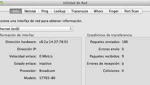 Conoce la aplicación Utilidad de Red preinstalada en el sistema operativo macOS