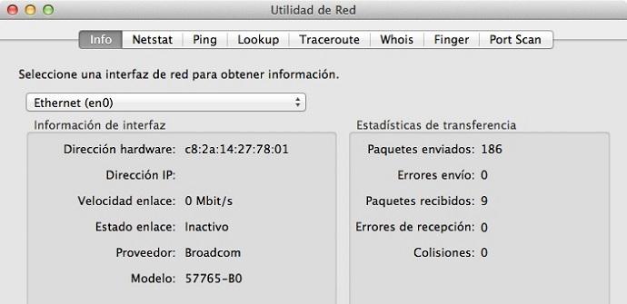 Conoce la utilidad de red de macOS