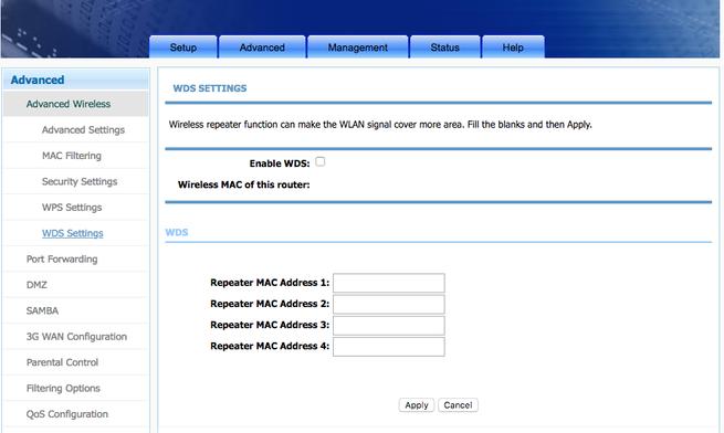 Configurar WDS en router de Movistar