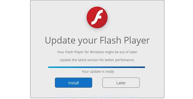 Actualizaciones falsas de Flash Player