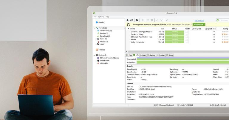 Tu antivirus te elimina uTorrent? Así puedes solucionarlo