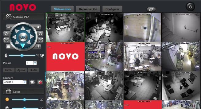 DVR control cámaras