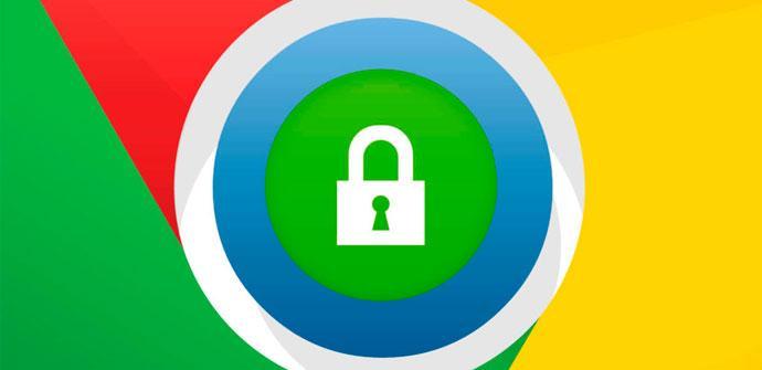 Google Chrome Contraseñas Seguridad