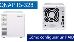 Cómo configurar un RAID 5 en un servidor NAS QNAP TS-328