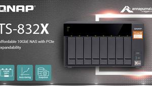 QNAP lanza la nueva familia de NAS TS-832X con 2 puertos 10GbE SFP+