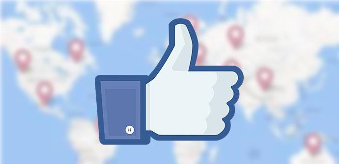 Ubicación Facebook