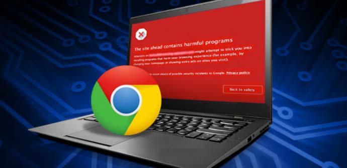 Sitios fraudulentos en la web de Google Chrome