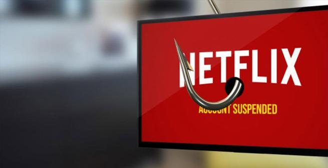 El phishing afecta a Netflix