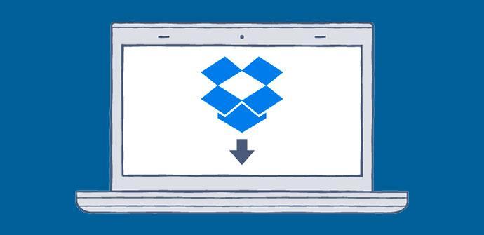 Descargar archivos Dropbox