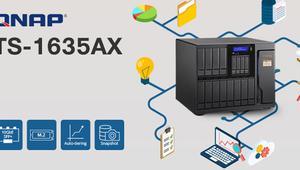 ¿Necesitas mucho almacenamiento en tu NAS? El nuevo QNAP TS-1635AX tiene 16 bahías